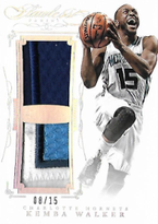 KEMBA WALKER / Dual Patch - No. DP-KW  (#d 8/15)