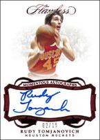 RUDY TOMJANOVICH / Momentous Autographs - No. MA-RTJ  (#d 2/15)