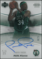 PAUL PIERCE / Auto Focus - No. AF-PP