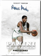 ROBERT PARISH / Panini Signatures - No. 477 (#d 9/10)