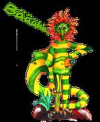 Der böse Knotsch,Knotsch, Wampel.net, Der Gegner von Wampel, Kinderbuchheld, Kinderbuchbestseller