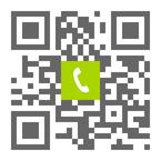 Telefonnummer der Zahnarztpraxis Dr. Weitzel-Paulus & Dr. Diehl in Königstein: Einfach scannen und anrufen!