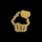 Wünsche Icon in Form eines Muffins
