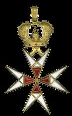 Croix de l'ordre du Temple dit « de Fabré-Palaprat, Ier Empire.