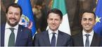 Salvini, Conte, di Maio - Lega, Cinque Stelle