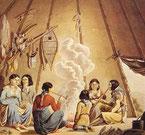 Im Tipi (ca. 1825)