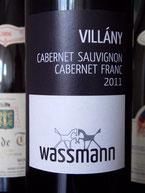 vörösbor cuvée wassmann