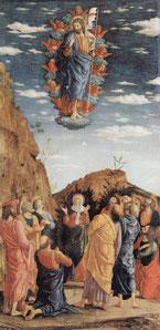 L'Ascension, Andrea Mantegna