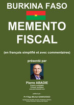 memento fiscal du Burkin-Faso