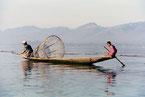 Fischer am Inle Lake