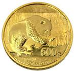 K24  純金  中国 パンダ 500元 金貨 コイン