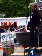 Nina beim Goslarer Altstadtlauf 2014