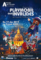 PLAYMOBIL® aux Invalides.