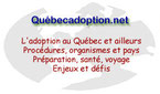 Quebecadoption.net