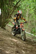 Jüngster Trialfahrer in Raron (Sektion 2)