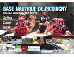 base nautique canoe kayak rafting somme