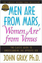 "cover of book ""Men Are From Mars Women Are From Venus"" by John Gray"