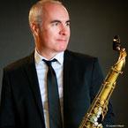 "Laurent Meyer, saxophoniste de jazz, intervenant dans les formules ""Jazz"" et ""Jazz & Bossa Nova"""