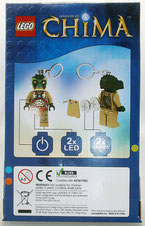 Lego Mini Taschenlampe als Schlüsselanhänger