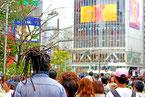 東京渋谷の外国人