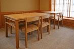 テーブル・机・椅子・伊勢・おかげ横丁