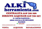 alki herramienta madrid