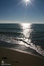 Rome Coucher de soleil sur la mer
