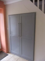 Porte de placard en bois laqué