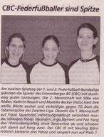 Cronenberger Woche Bericht vom 21.03.2003