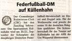 Cronenberger Woche Bericht vom 13.06.2003