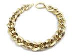 Bracciale in oro 18kt donna maglie lucide e godronate codice: BR9723G