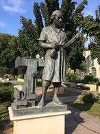 la statue de Stradivarius
