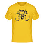 """""""Heldenkarre"""", yellow"""