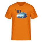 """""""968 '91"""", orange"""