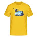 """""""968 '91"""", yellow"""