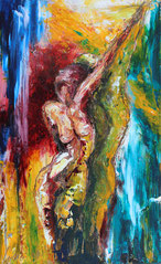 """Dance with Marlene"" - Acryl aud Holz 40x60"