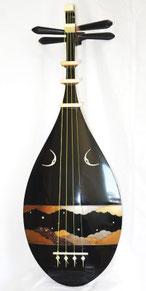 薩摩琵琶(漆塗り)
