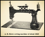 From:  The Invention of the Sewing Machine by Grace Rogers Cooper