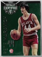 PETE MARAVICH / Green Version - No. 136  (#d 1/5)