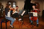 Trio-Grimm spielt zum Abend in der Nikolaikirche