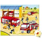 Valise chantier/pompier (2 puzzles)