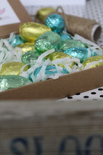 Schokoladenei Stück 0,75 €
