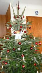 Fröhliche Weihnachten und einen guten Rutsch wünscht Corinna aus Friedland