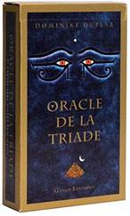Pierres de Lumière, Oracle de la triade, tarots, lithothérpie, bien-être, ésotérisme