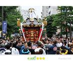 彫勇連合さん:横浜みこしコラボレーション