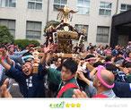 恵利子さん: かわさき市民祭り