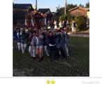 弾正睦さん: 八幡神社祭禮(北茨城)
