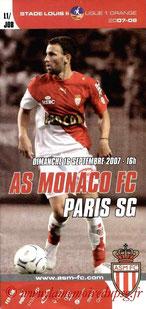 Programme  Monaco-PSG  2007-08