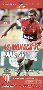 Programme  Monaco-PSG  2006-07