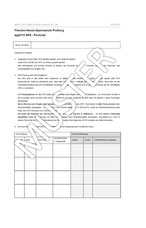 GFS-Formular/Original bei der Oberstufenberatung